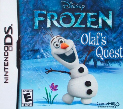 Frozen: Olaf's Quest on DS - Gamewise