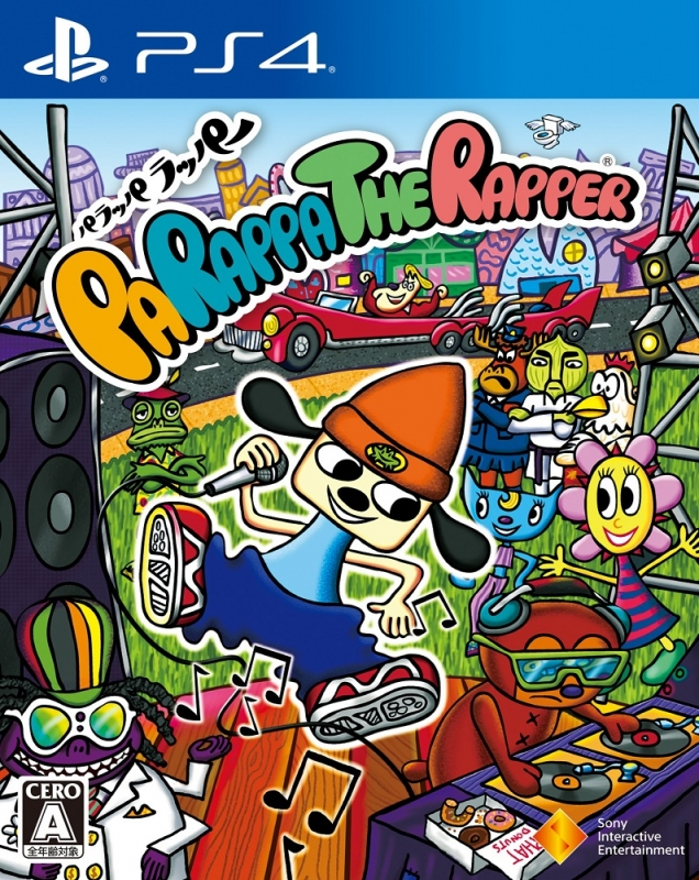 PaRappa the Rapper Remastered on PS4 - Gamewise