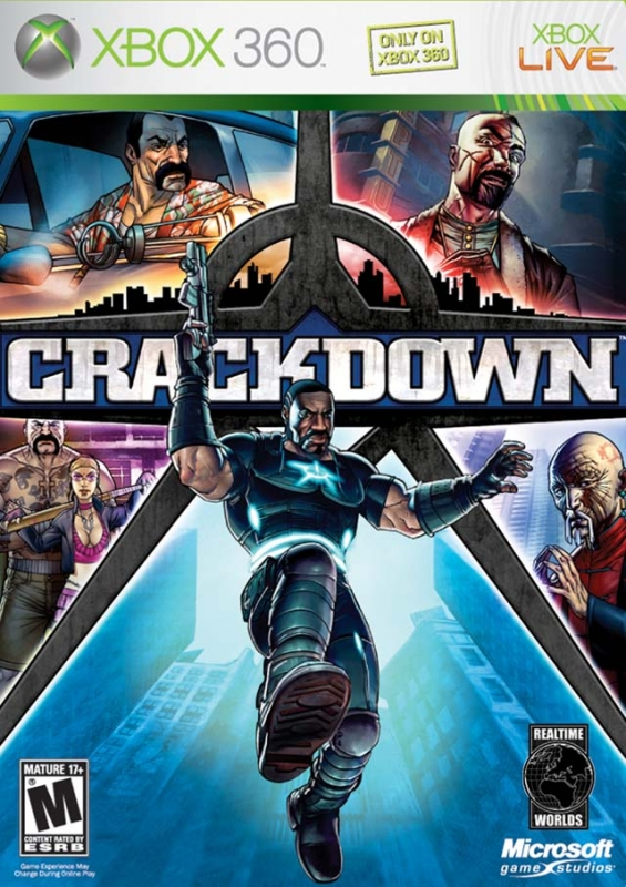 Crackdown on X360 - Gamewise