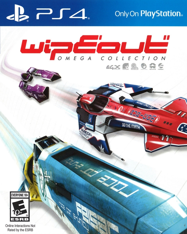 WipEout Omega Collection on PS4 - Gamewise