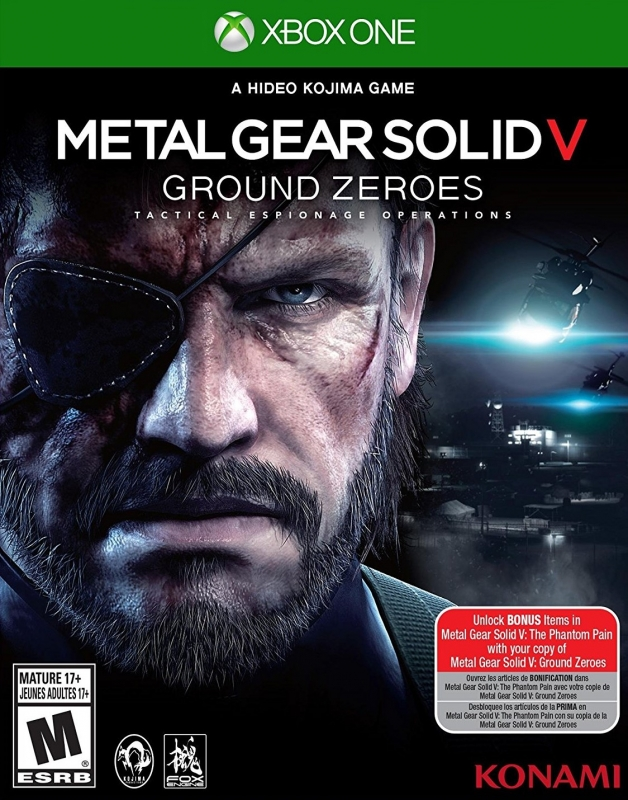 Metal Gear Solid V: Ground Zeroes for XOne Walkthrough, FAQs and Guide on Gamewise.co
