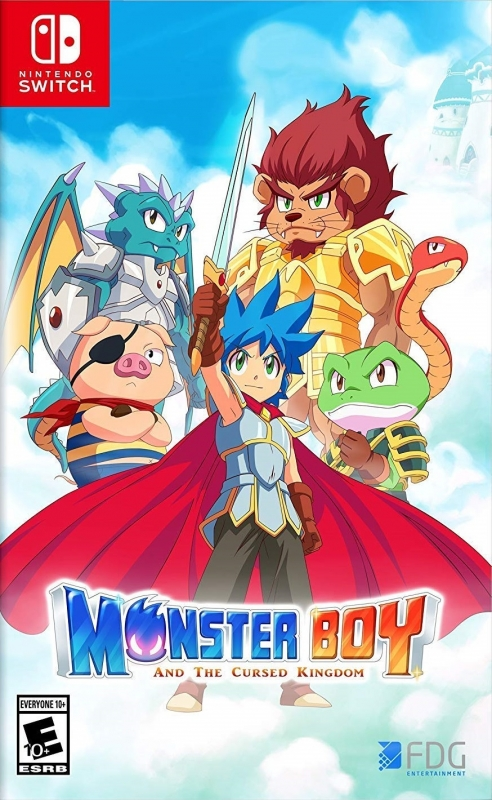 Monster Boy and the Cursed Kingdom Wiki - Gamewise