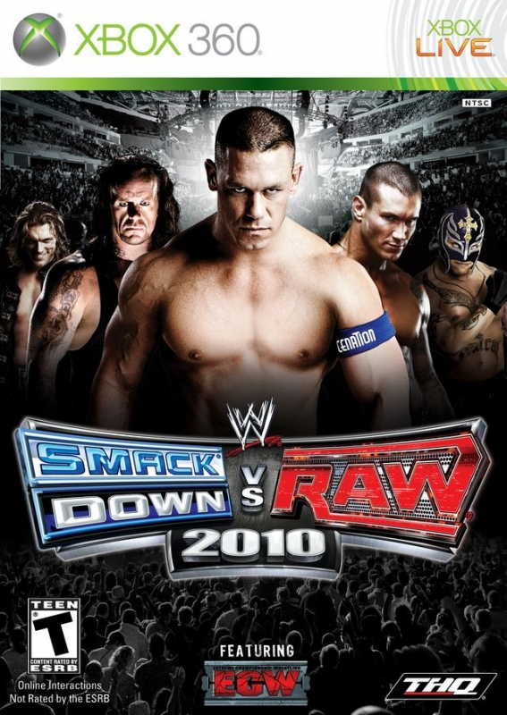 WWE SmackDown vs. Raw 2010 on X360 - Gamewise