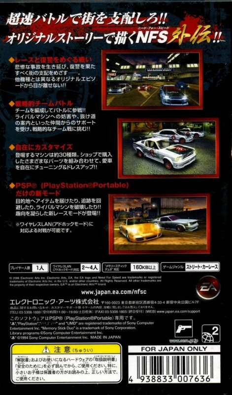Need For Speed Carbon For Playstation Portable Sales Wiki