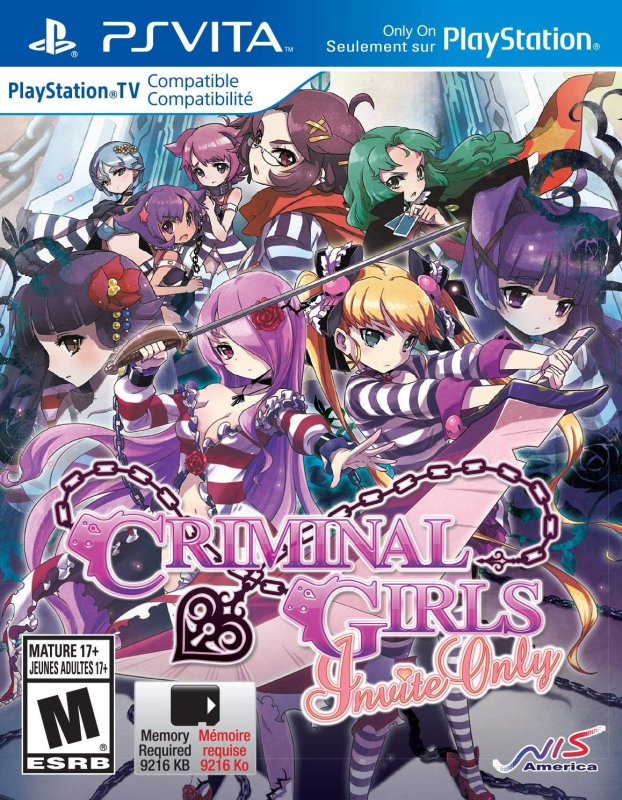 Criminal Girls: Invite Only for PSV Walkthrough, FAQs and Guide on Gamewise.co