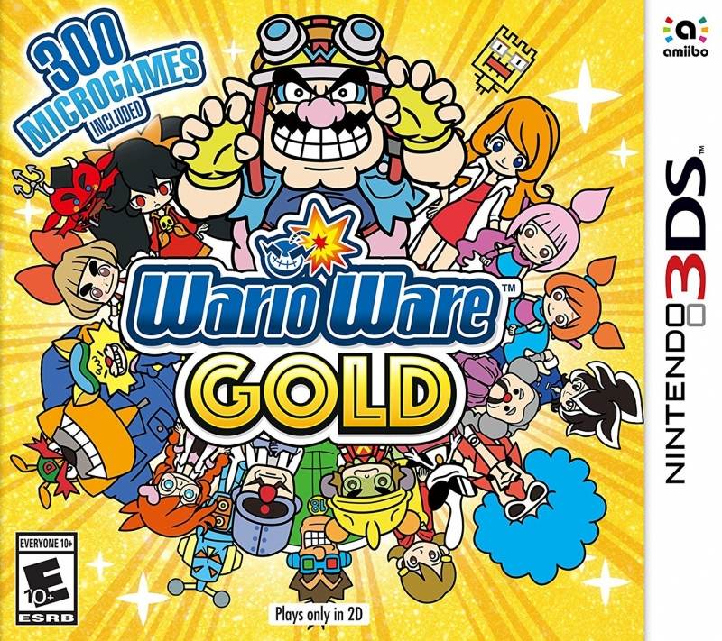 WarioWare Gold for 3DS Walkthrough, FAQs and Guide on Gamewise.co