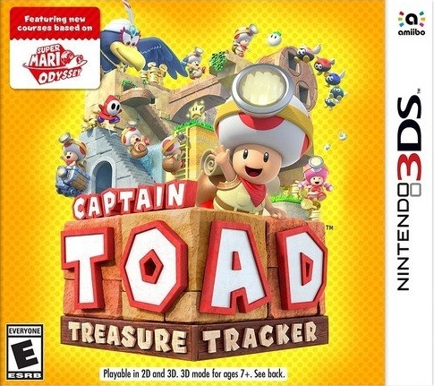 Captain Toad: Treasure Tracker on 3DS - Gamewise