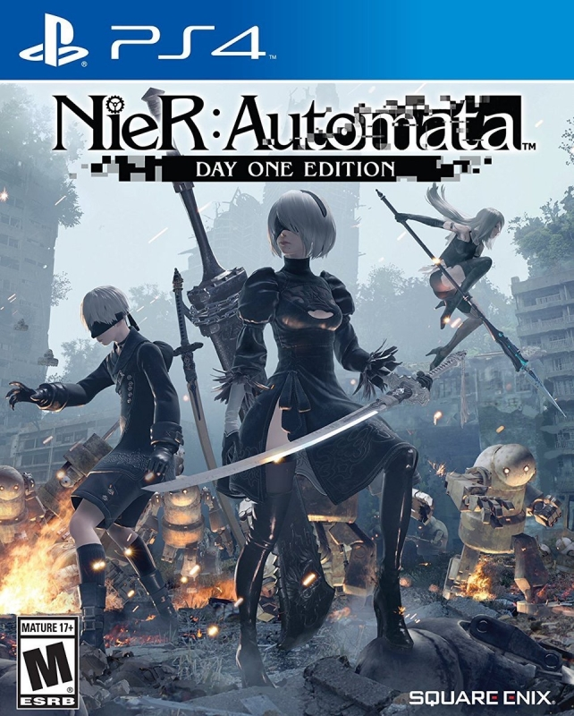 NieR Automata on PS4 - Gamewise