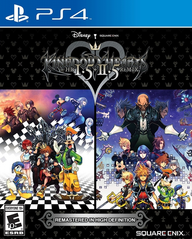 Kingdom Hearts 1.5 + 2.5 Remix [Gamewise]
