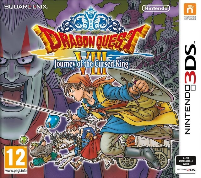 Dragon Quest Wikipedia: Dragon Quest VIII: Journey Of The Cursed King For Nintendo