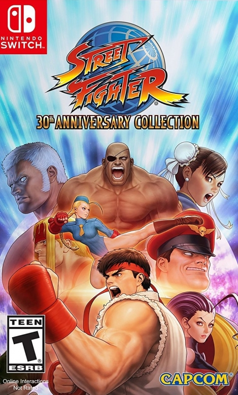 Street Fighter 30th Anniversary Collection on NS - Gamewise