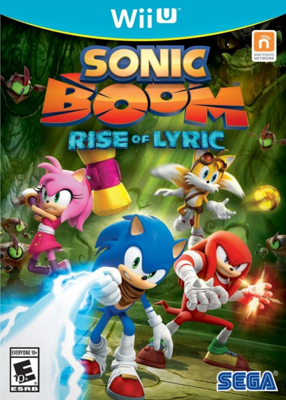 Sonic Boom on WiiU - Gamewise