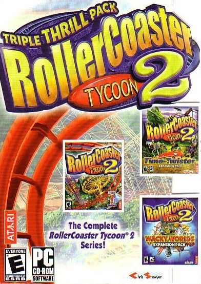RollerCoaster Tycoon 2: Triple Thrill Pack for Microsoft