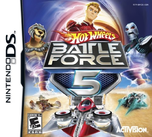 Hot Wheels: Battle Force 5 on DS - Gamewise