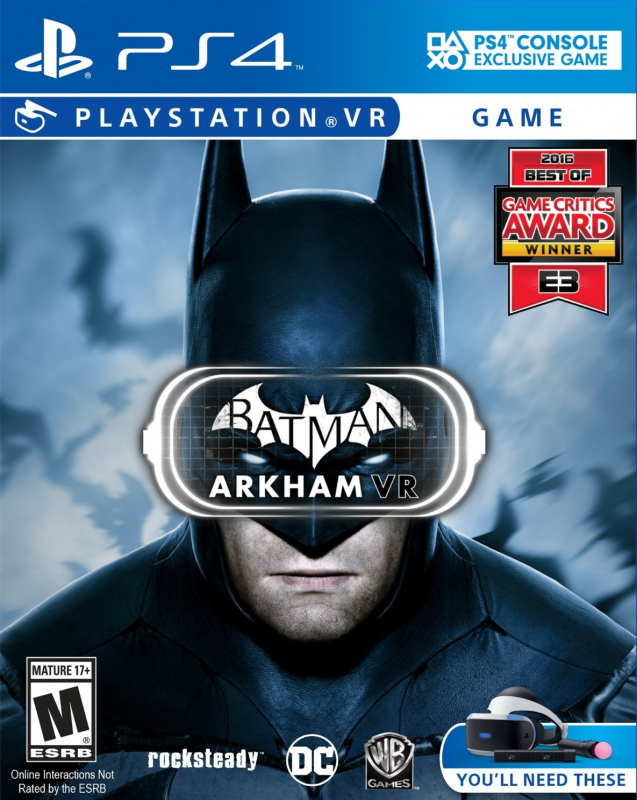 Batman: Arkham VR on PS4 - Gamewise
