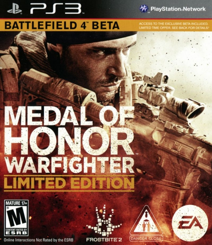 Medal of Honor: Warfighter (Limited Edition) for PS3 Walkthrough, FAQs and Guide on Gamewise.co