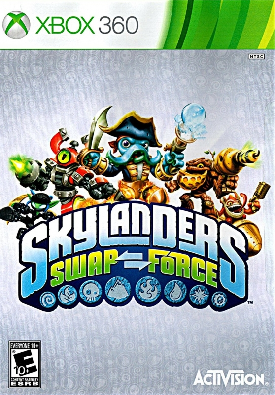 Skylanders SWAP Force Wiki Guide, X360