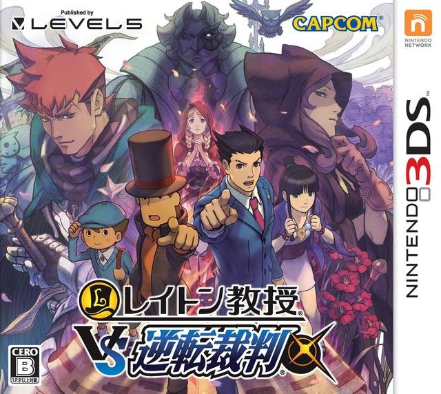 Professor Layton vs Ace Attorney | Gamewise