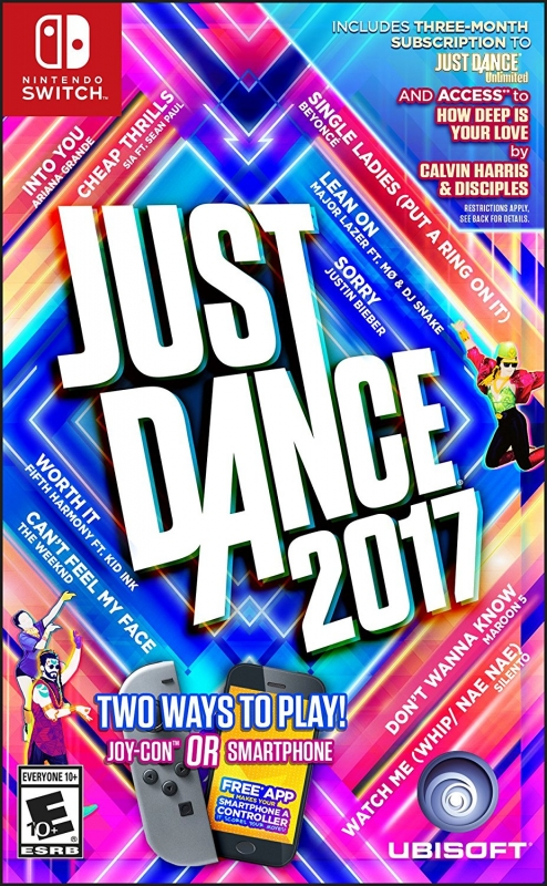 Just Dance 2017 on NS - Gamewise