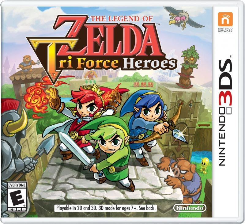 Gamewise The Legend of Zelda: Tri Force Heroes Wiki Guide, Walkthrough and Cheats
