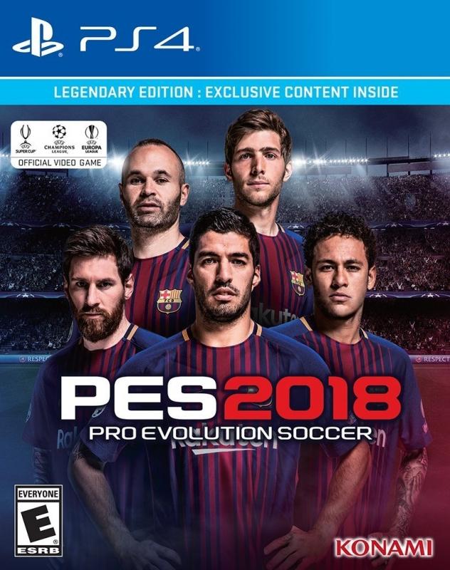 Pro Evolution Soccer 2018 for PlayStation 4 - Sales, Wiki