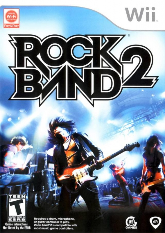 Rock Band 2 on Wii - Gamewise