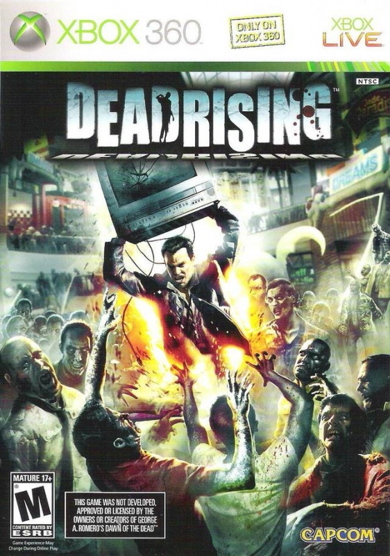 Dead Rising for X360 Walkthrough, FAQs and Guide on Gamewise.co