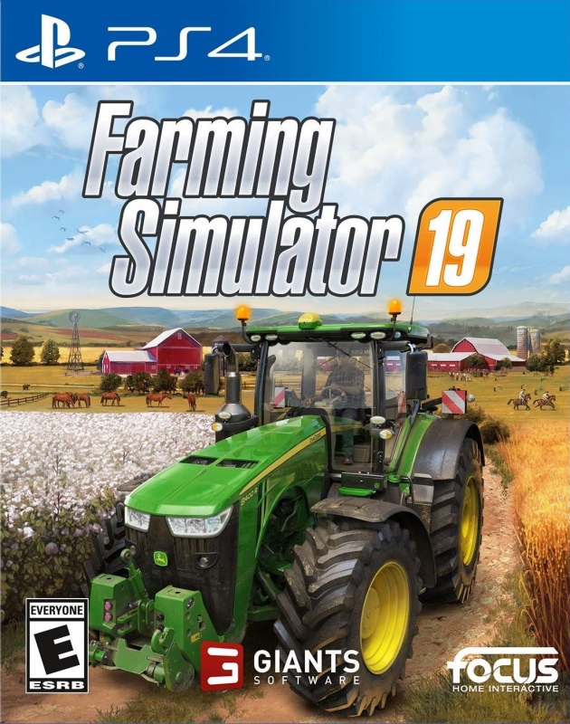 Farming Simulator 19 on PS4 - Gamewise