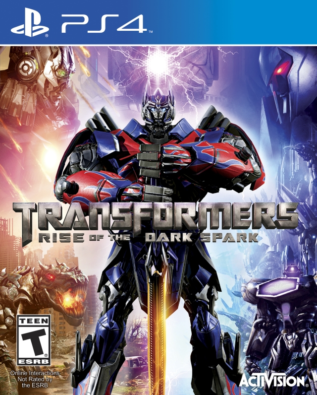 Transformer: Rise of the Dark Spark on PS4 - Gamewise