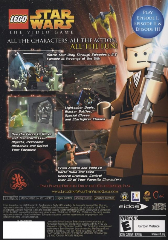 Lego Star Wars For Playstation 2 Sales Wiki Release Dates Review Cheats Walkthrough