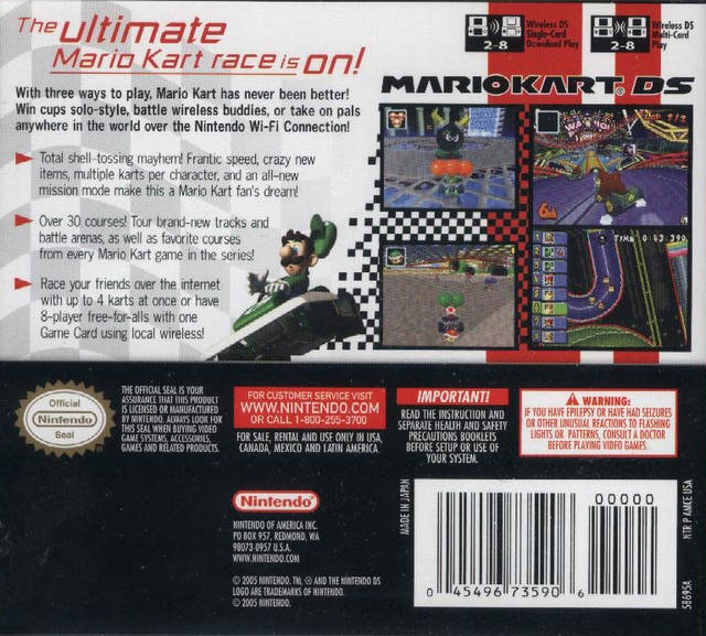 Mario Kart Ds For Nintendo Ds Cheats Codes Guide