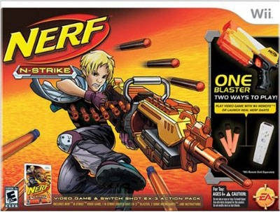 NERF N-Strike for Wii Walkthrough, FAQs and Guide on Gamewise.co