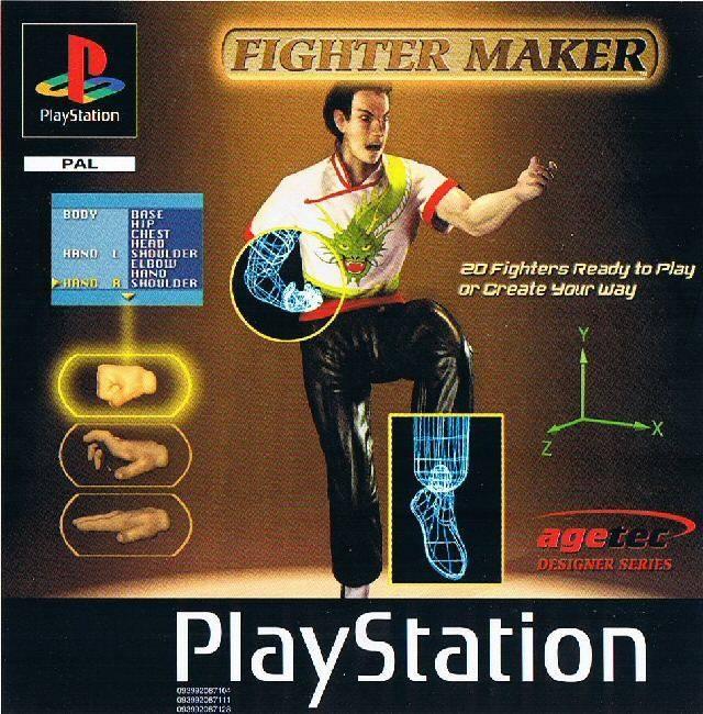 Fighter Maker For PlayStation