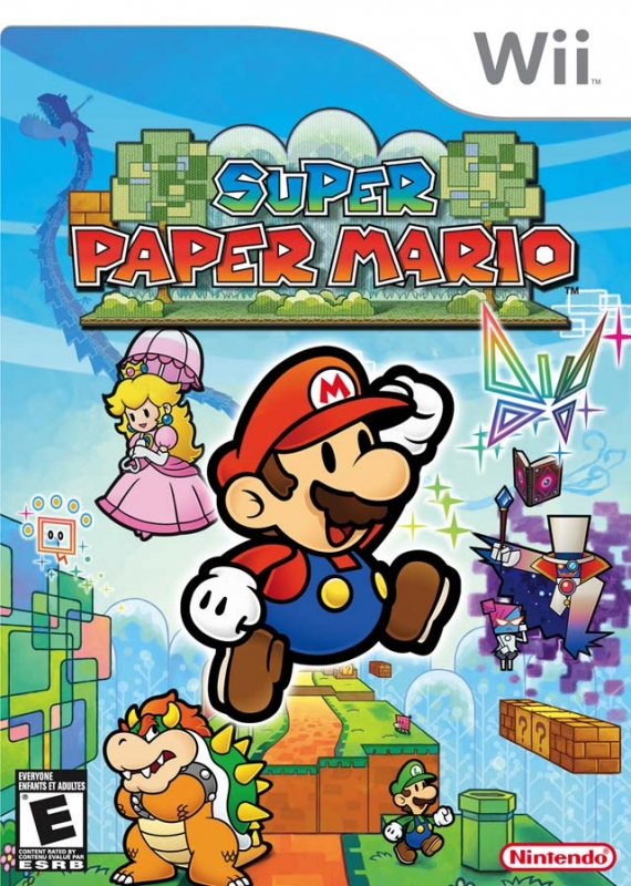 Super Paper Mario on Wii - Gamewise