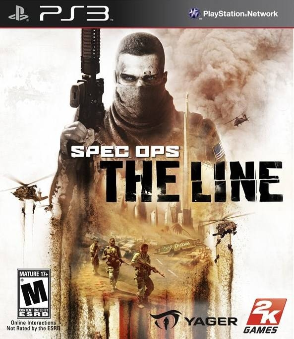 Spec Ops: The Line on PS3 - Gamewise