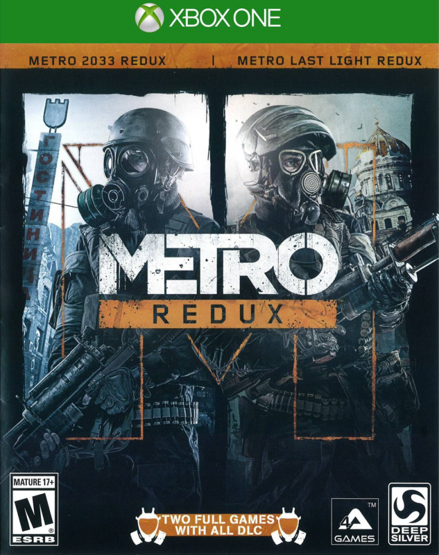 Gamewise Metro: Redux Wiki Guide, Walkthrough and Cheats