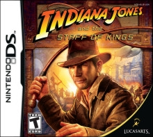 Indiana Jones and the Staff of Kings for DS Walkthrough, FAQs and Guide on Gamewise.co