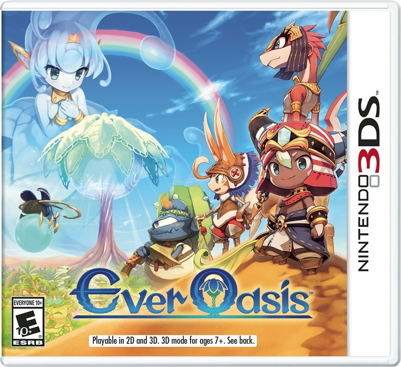 Ever Oasis on 3DS - Gamewise