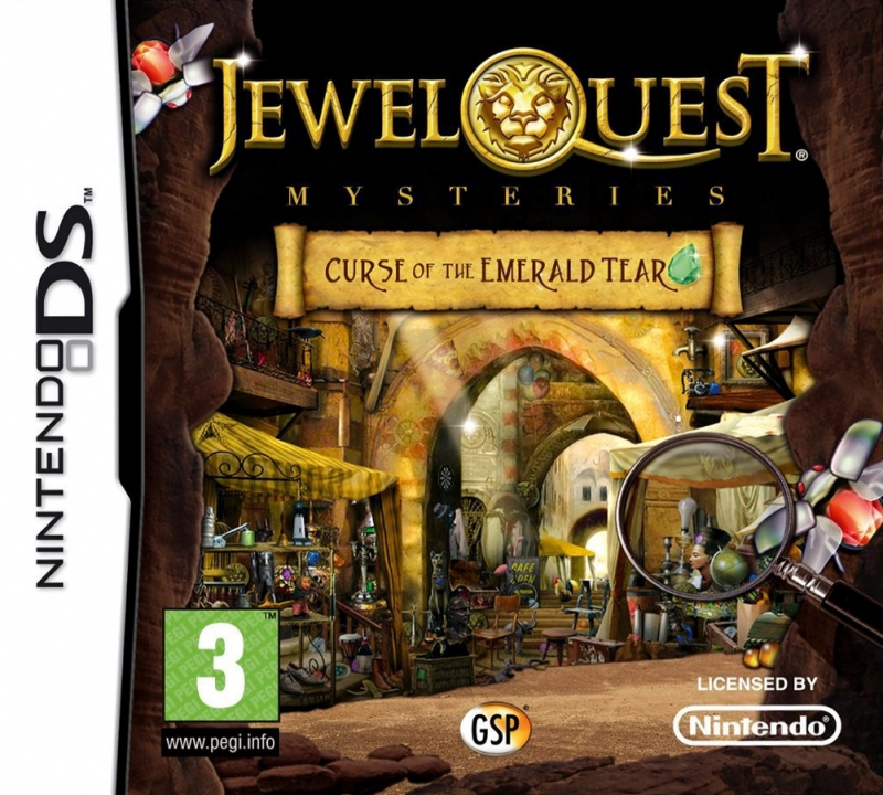 Jewel Quest Mysteries: Curse of the Emerald Tear on DS - Gamewise
