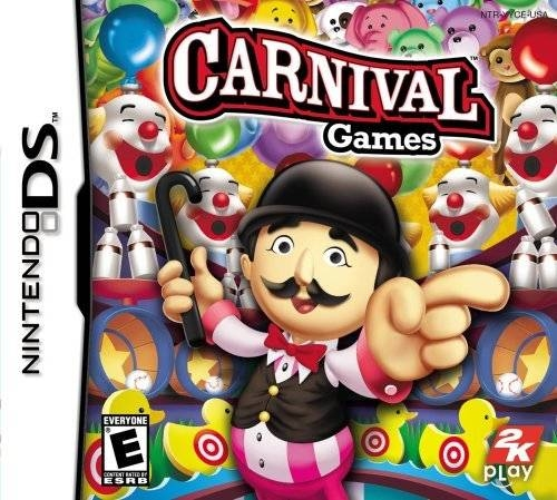 Carnival Games for DS Walkthrough, FAQs and Guide on Gamewise.co