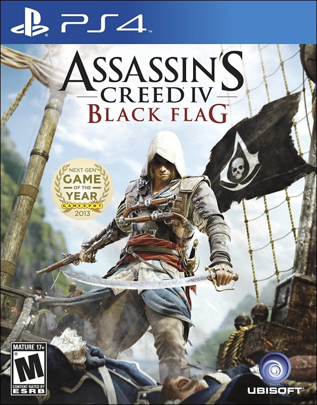 Assassin's Creed IV: Black Flag Release Date - PS4