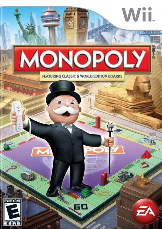 Monopoly on Wii - Gamewise