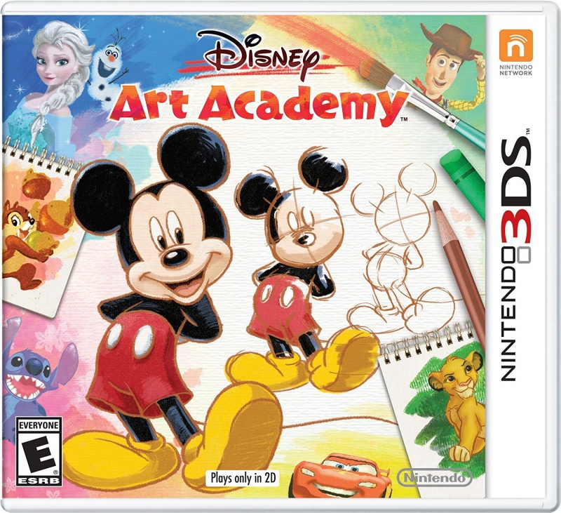 Disney Art Academy for 3DS Walkthrough, FAQs and Guide on Gamewise.co