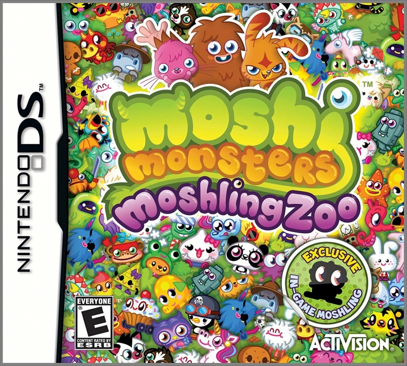 Moshi Monsters: Moshling Zoo on DS - Gamewise