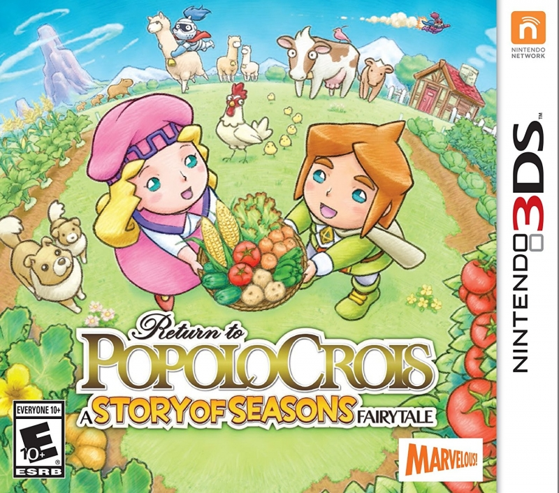 Return to PopoloCrois: A Story of Seasons for 3DS Walkthrough, FAQs and Guide on Gamewise.co