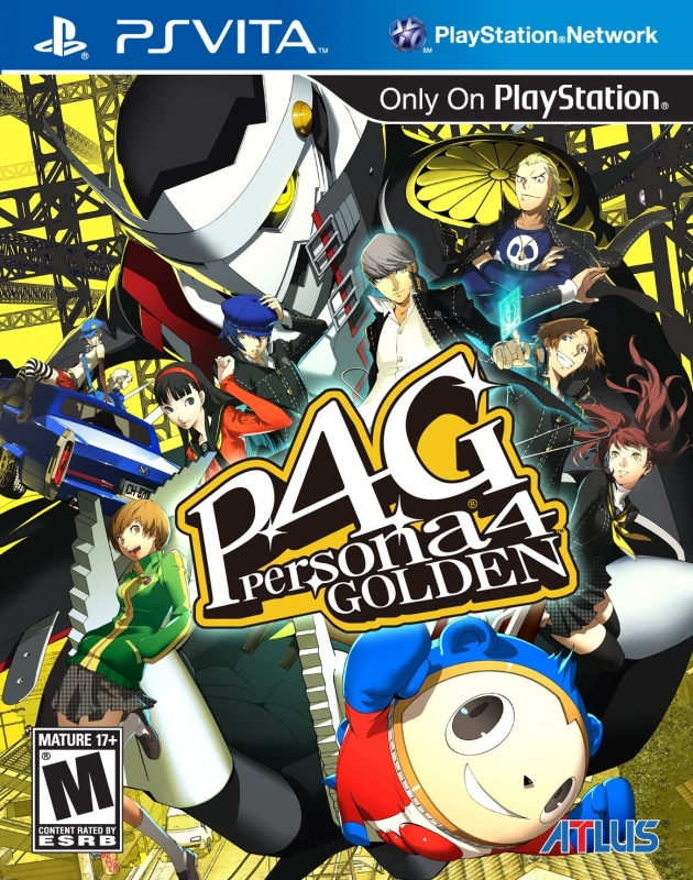 persona 4: The golden Wiki Guide, PSV