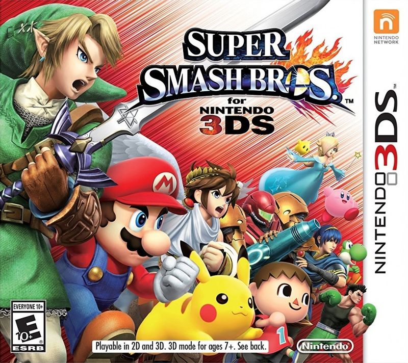 Super Smash Bros. Wii U Release Date - 3DS