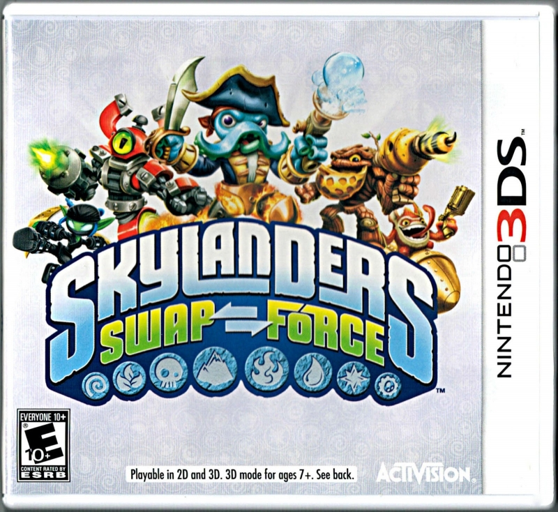 Skylanders SWAP Force on 3DS - Gamewise