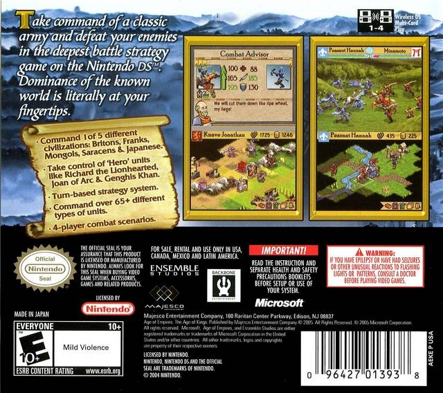 Age of Empires II: The Age of Kings for Nintendo DS - Sales