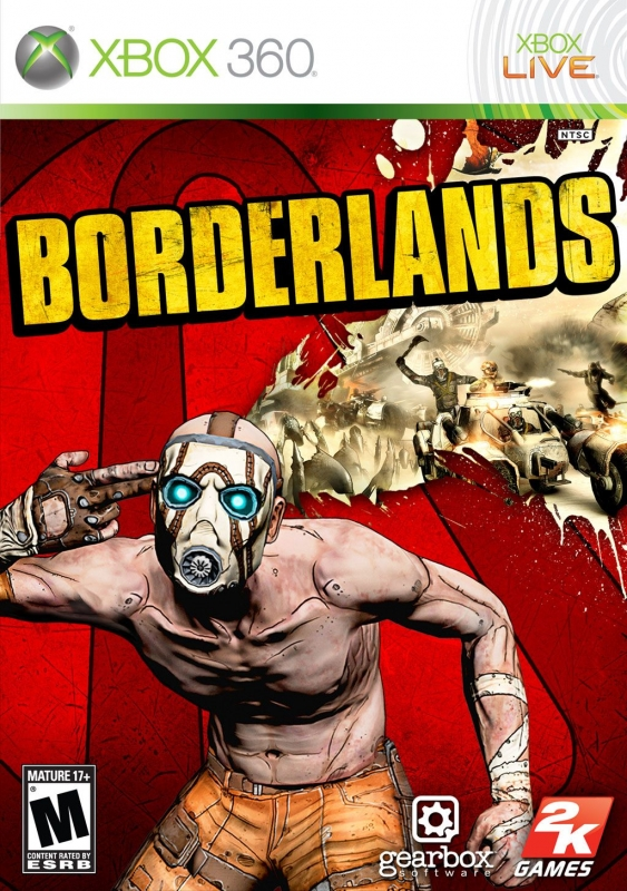Borderlands on X360 - Gamewise